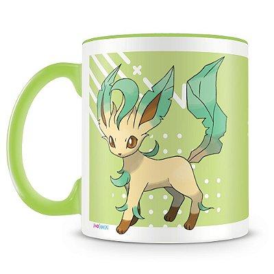 Caneca Personalizada Pokémon Leafeon