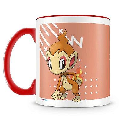 Caneca Personalizada Pokémon Chimchar