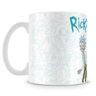 Caneca Personalizada Rick and Morty (Mod.1)