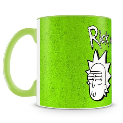 Caneca Personalizada Rick and Morty (Mod.2)