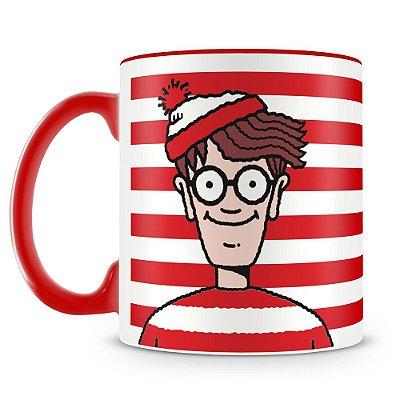 Caneca Personalizada Where's Wally