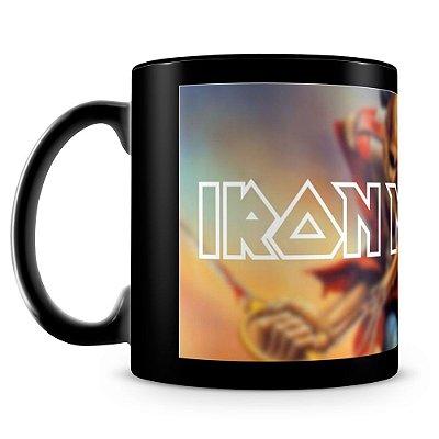 Caneca Personalizada Iron Maiden (100% preta)