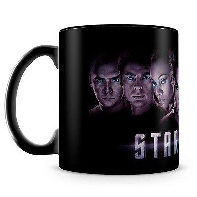 Caneca Personalizada Star Trek (100% Preta)