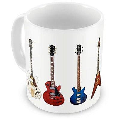 Caneca Personalizada Guitarras