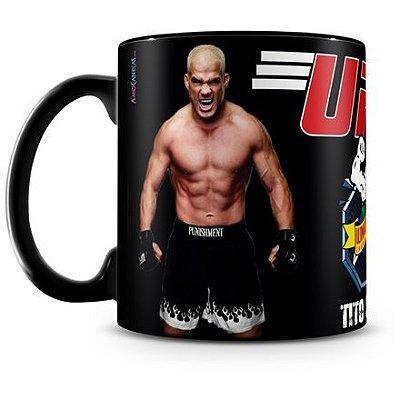 Caneca Personalizada UFC Tito Ortiz (Preta)