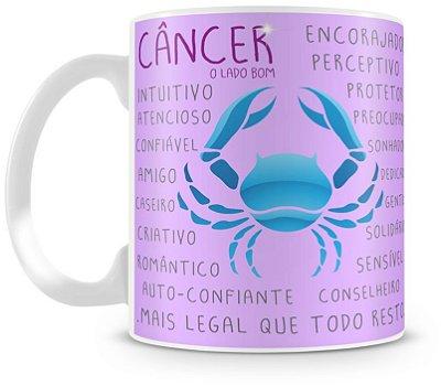 Caneca Personalizada Signo de Câncer