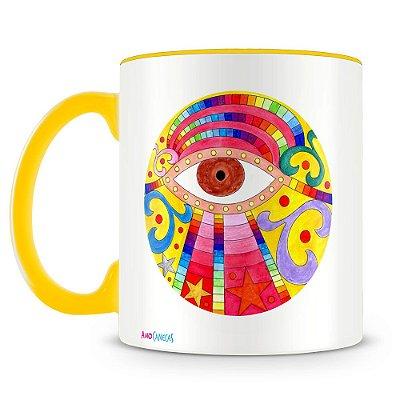 Caneca Personalizada Mandala Ojito