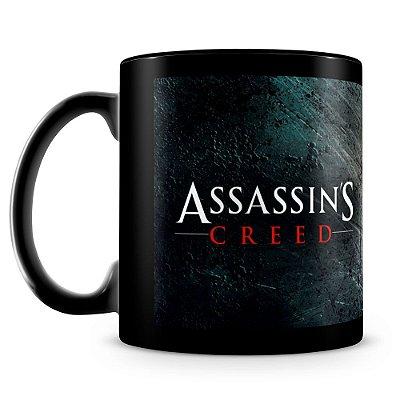 Caneca Personalizada Assassin's Creed Sangue (100% Preta)
