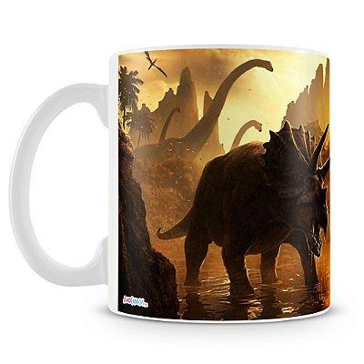 Caneca Personalizada Jurassic Park (Mod.2)