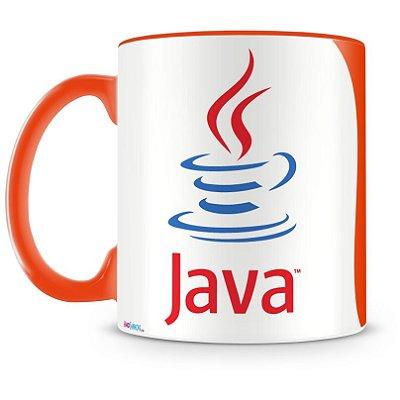 Caneca Personalizada Profissão Programador Java