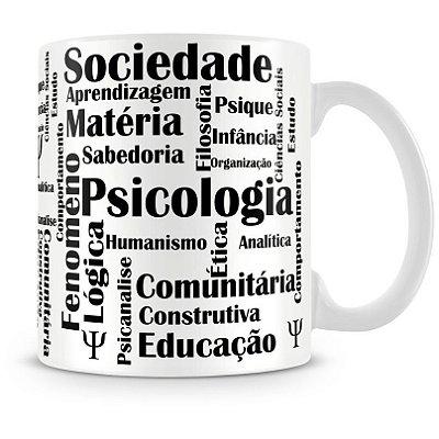 Caneca Personalizada Profissão Psicologia (Mod.2)