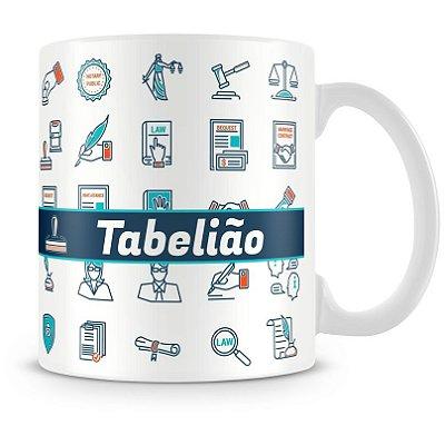 Caneca Personalizada Profissão Tabelião