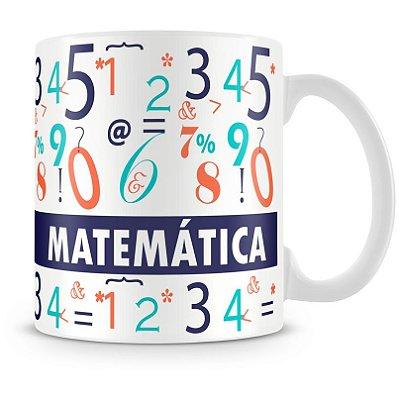 Caneca Personalizada Profissão Matemática