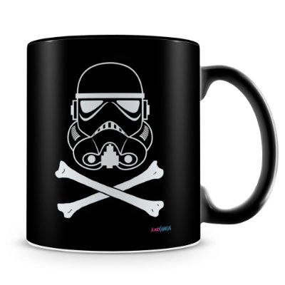 Caneca Personalizada Stormtrooper Star Wars (100% Preta)