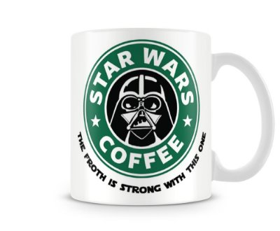 Caneca Personalizada Darth Vader Star Wars Coffee