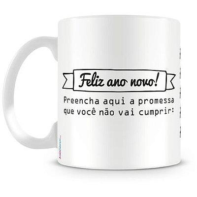 Caneca Personalizada Promessa Ano Novo