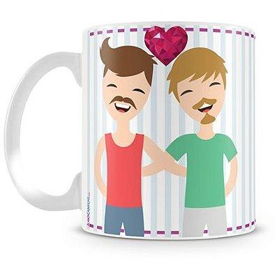 Caneca Personalizada Amor é Amor (Masculino)
