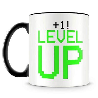 Caneca Personalizada Level UP!