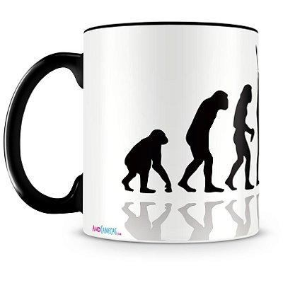 Caneca Personalizada Evolução Geek