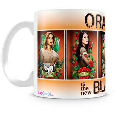 Caneca Personalizada Orange is the New Black (Mod.3)