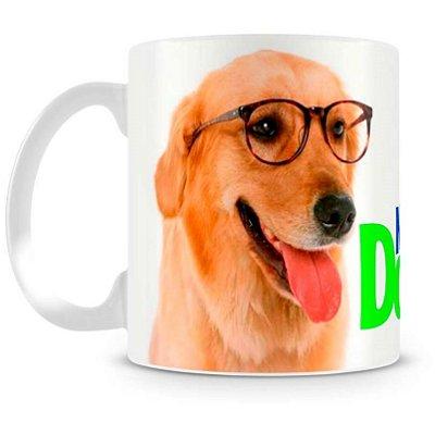Caneca Personalizada Nerd Dog
