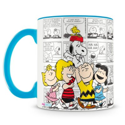 Caneca Personalizada Amigos do Snoopy
