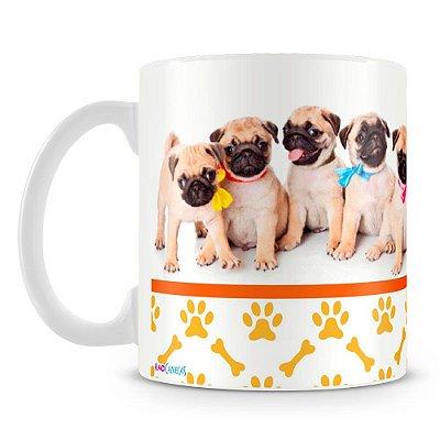 Caneca Personalizada Cachorro Pug (Mod.1)