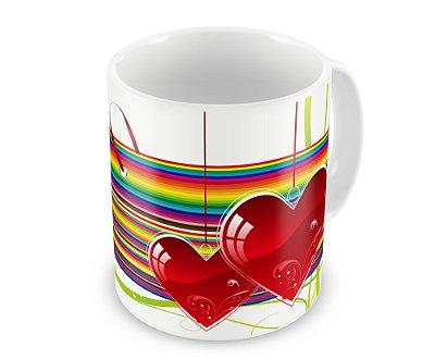 Caneca Personalizada Amor em Todas as Cores