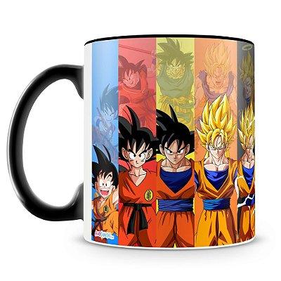 Caneca Personalizada Dragon Ball Goku (Preta)