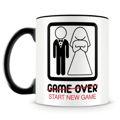 Caneca Personalizada New Game