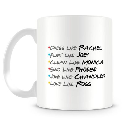 Caneca Personalizada Friends Like