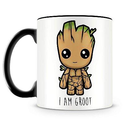 Caneca Personalizada Guardiões da Galáxia I'm Groot