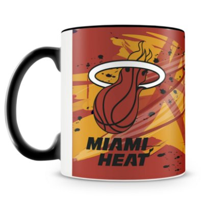 Caneca Personalizada Basquete Time Miami Heat