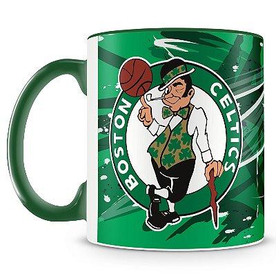 Caneca Personalizada Basquete Time Celtics