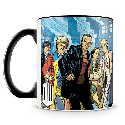 Caneca Personalizada Doctor Who Comics (Mod.2)
