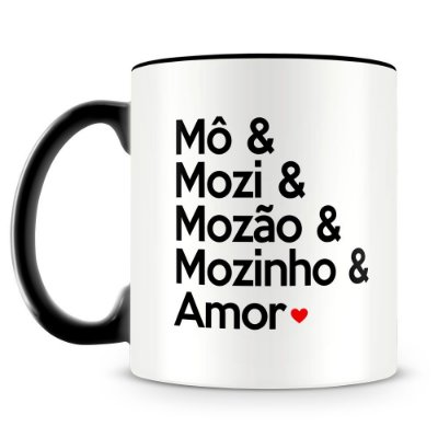 Caneca Personalizada Amor