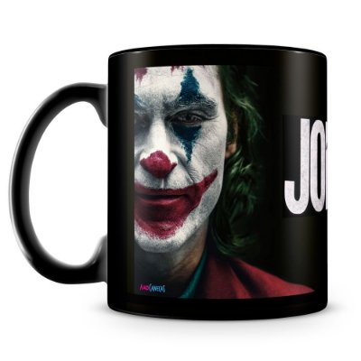 Caneca Personalizada Joker (100% preta)