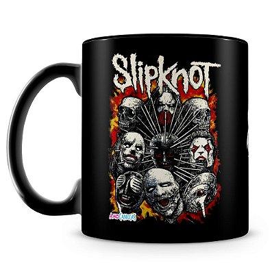 Caneca Personalizada Slipknot (100% preta)