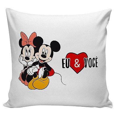 Almofada Personalizada Mickey e Minnie