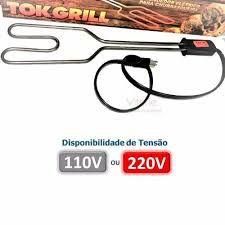 Acendedor elétrico para Churrasqueira 1000 W. Inmetro