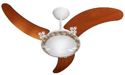 Ventilador De Teto Venti-Delta Ventus Branco 3 Velocidades