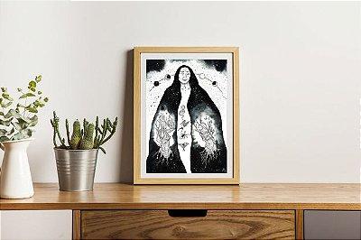 Ilustração Original - Mulheres Árvores