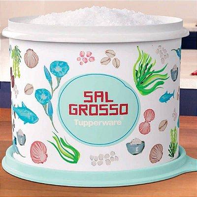 Tupperware Caixa Sal Grosso Floral 1Kg*