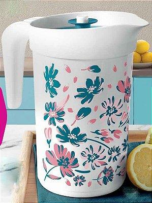Tupperware A Jarra Turmalina Floral 2 litros