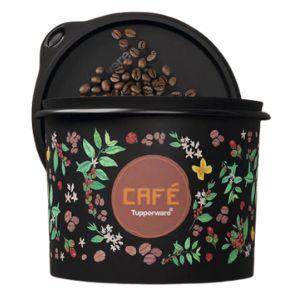 Tupperware Caixa Café Floral 700g