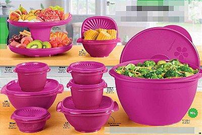 Tupperware Kit Tigela Sensação 9 peças