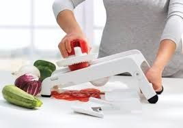 Tupperware Super Chef Fatiador Mandolin
