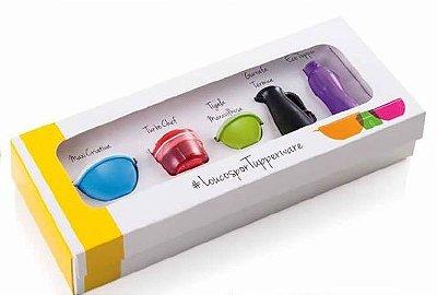 Tupperware Kit 5 chaveiros