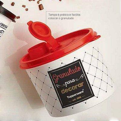 Tupperware Redondinha Granulado Bistrô 350 grs
