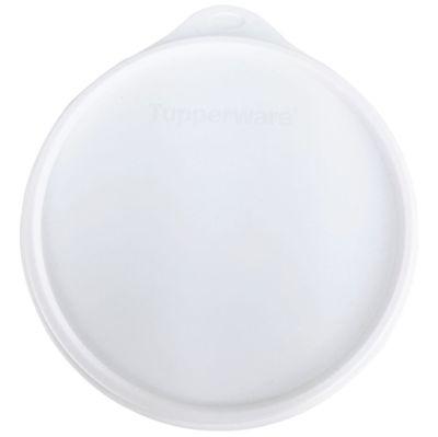 Tampa Tupperware Caixa armazenagem  Branca - 16,6 CM